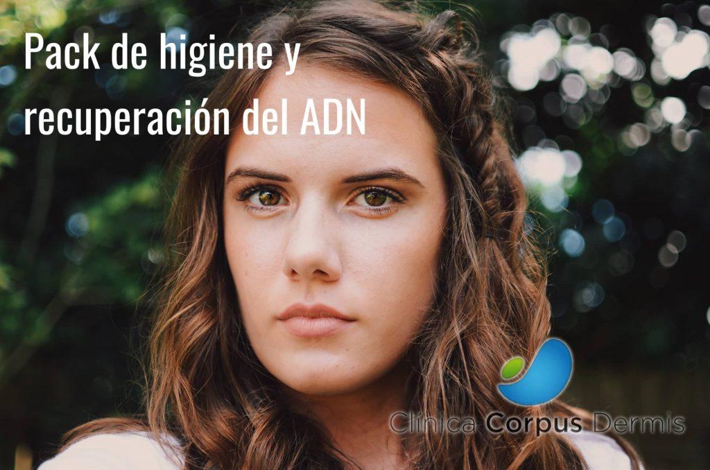 Higiene facial y recuperación ADN