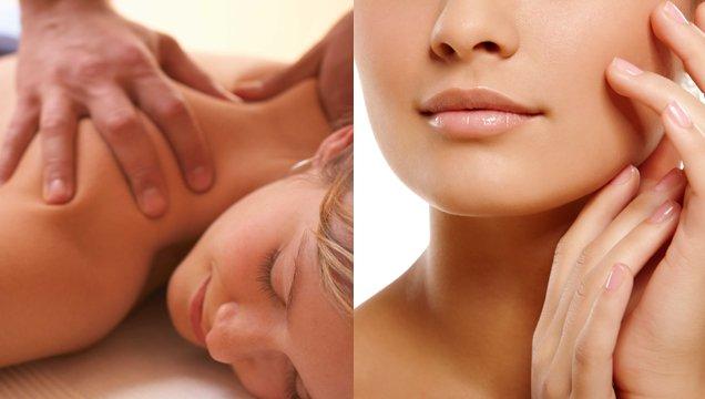 Masajes y tratamientos faciales